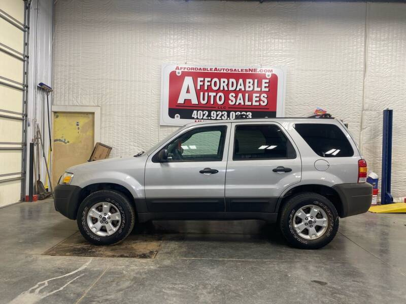 2007 Ford Escape for sale at Affordable Auto Sales in Humphrey NE