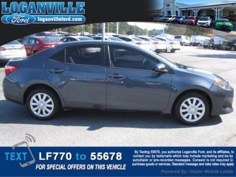 2018 Toyota Corolla for sale at Loganville Ford in Loganville GA