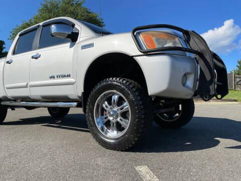 2012 Nissan Titan for sale at Superior Wholesalers Inc. in Fredericksburg VA
