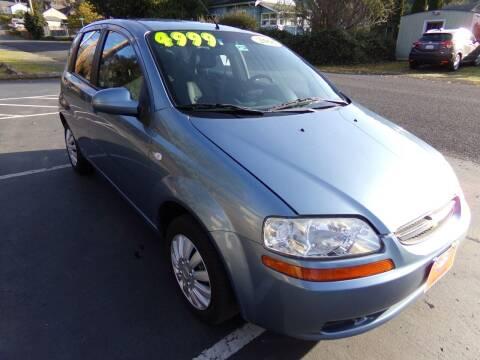 2006 Chevrolet Aveo for sale at Signature Auto Sales in Bremerton WA