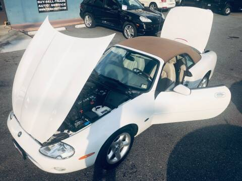 2001 Jaguar XK-Series for sale at Trimax Auto Group in Norfolk VA