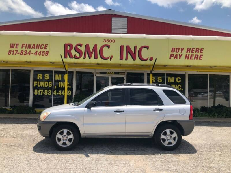 2007 Kia Sportage for sale at Ron Self Motor Company in Fort Worth TX