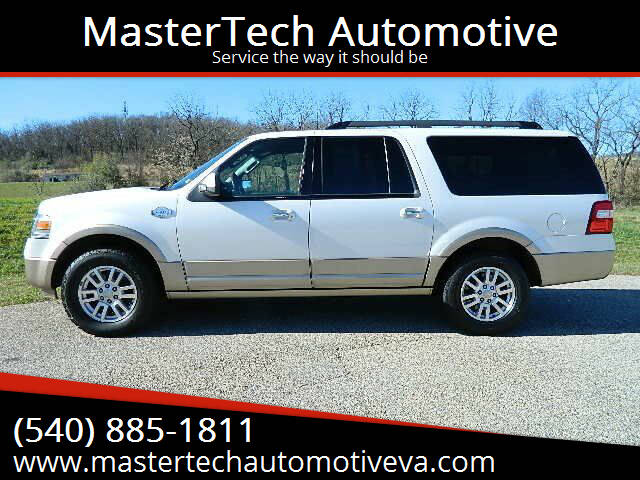 2012 Ford Expedition EL for sale at MasterTech Automotive in Staunton VA