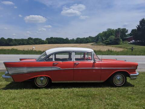 1957 Chevrolet Bel Air for sale at GREAT DEALS ON WHEELS in Michigan City IN