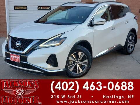 2019 Nissan Murano for sale at Jacksons Car Corner Inc in Hastings NE