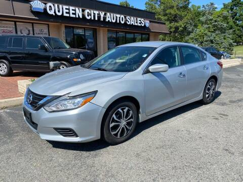 2016 Nissan Altima for sale at Queen City Auto Sales in Charlotte NC