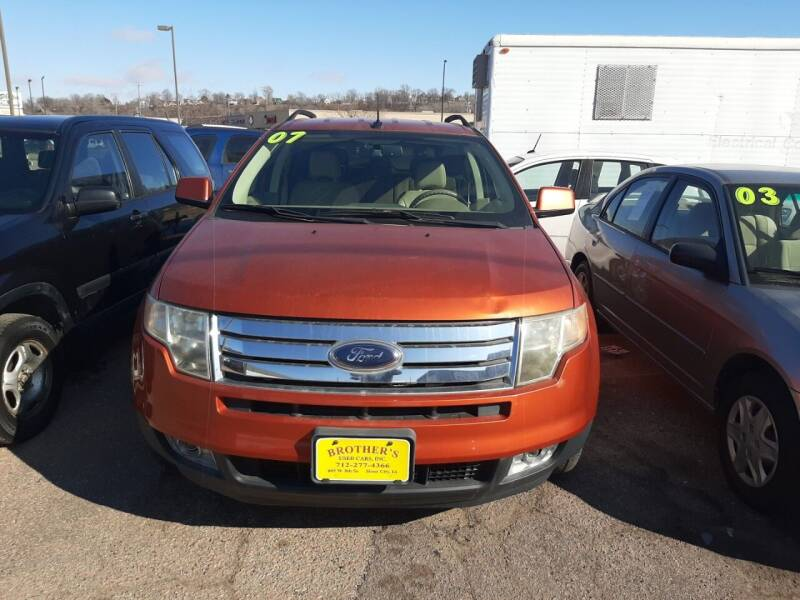 2007 Ford Edge for sale at Brothers Used Cars Inc in Sioux City IA