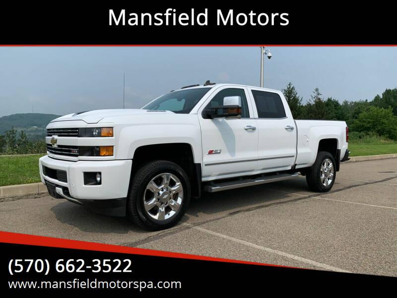 2019 Chevrolet Silverado 2500HD for sale at Mansfield Motors in Mansfield PA