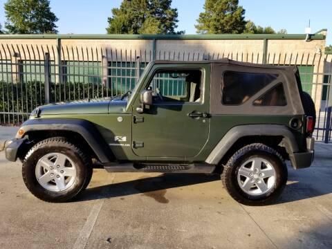 2007 Jeep Wrangler for sale at Hollingsworth Auto Sales in Wake Forest NC