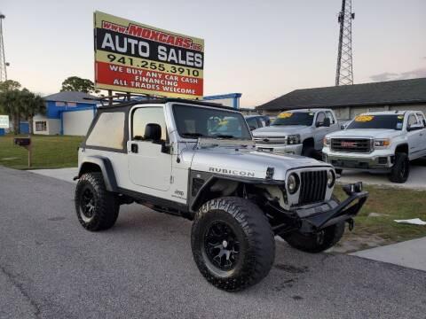 2006 Jeep Wrangler for sale at Mox Motors in Port Charlotte FL