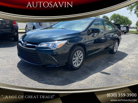 2015 Toyota Camry for sale at AUTOSAVIN in Elmhurst IL