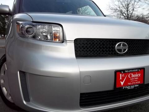 2008 Scion xB for sale at 1st Choice Auto Sales in Fairfax VA