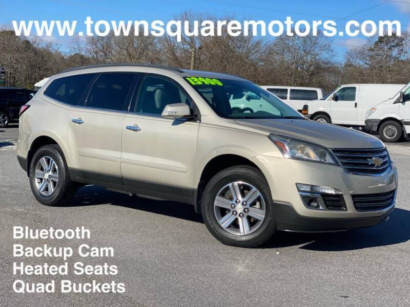 2015 Chevrolet Traverse for sale at Town Square Motors in Lawrenceville GA
