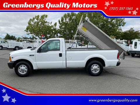 2000 Ford F-250 Super Duty for sale at Greenbergs Quality Motors in Napa CA