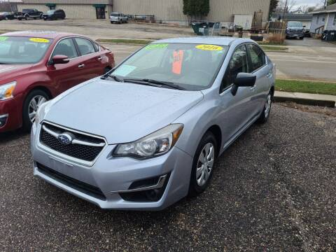 2016 Subaru Impreza for sale at River Motors in Portage WI