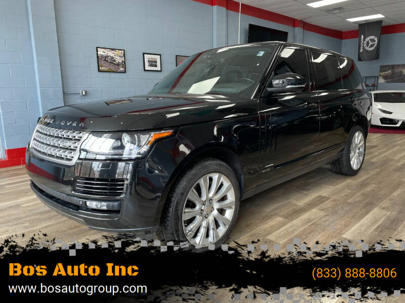 2014 Land Rover Range Rover for sale at Bos Auto Inc in Quincy MA