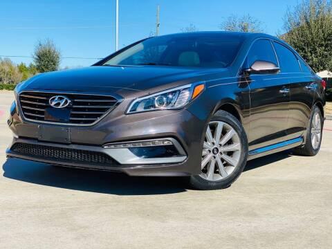 2016 Hyundai Sonata for sale at AUTO DIRECT in Houston TX