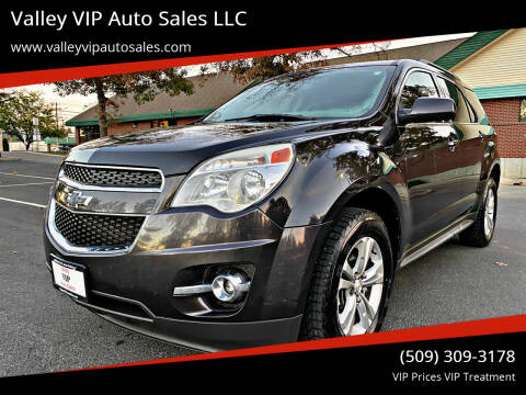 2013 Chevrolet Equinox for sale at Valley VIP Auto Sales LLC in Spokane Valley WA