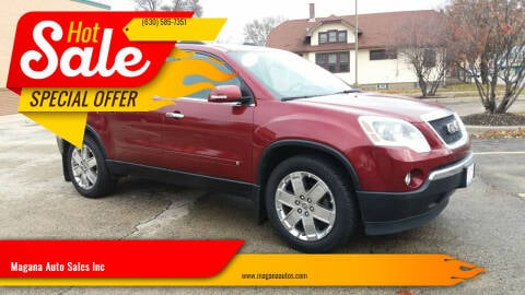 2010 GMC Acadia for sale at Magana Auto Sales Inc in Aurora IL