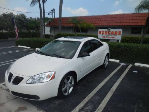 2006 Pontiac G6 for sale at Uzdcarz Inc. in Pompano Beach FL