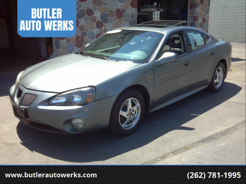 2004 Pontiac Grand Prix for sale at BUTLER AUTO WERKS in Butler WI