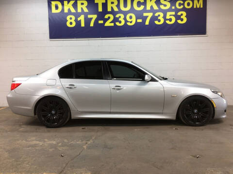 2008 BMW 5 Series for sale at DKR Trucks in Arlington TX