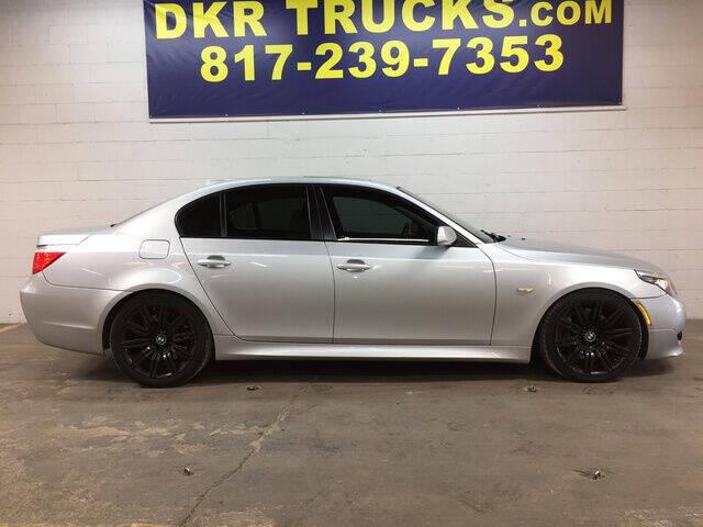 2008 BMW 5 Series for sale at DKR Trucks in Arlington TX