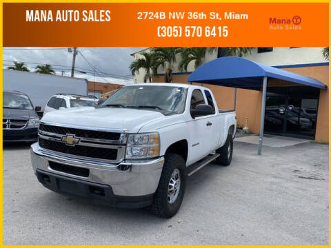 2011 Chevrolet Silverado 2500HD for sale at MANA AUTO SALES in Miami FL