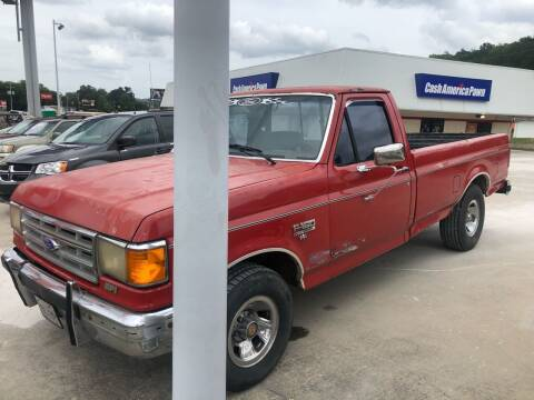 1990 Ford F-150 for sale at CarUnder10k in Dayton TN