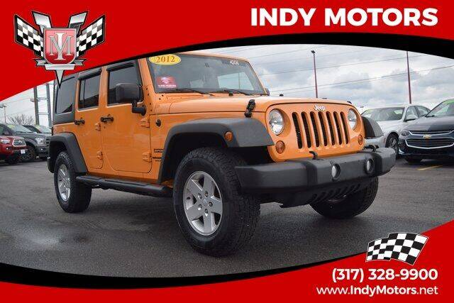 2012 Jeep Wrangler Unlimited for sale at Indy Motors Inc in Indianapolis IN