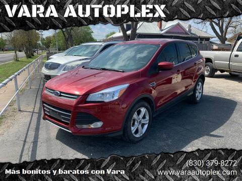 2014 Ford Escape for sale at VARA AUTOPLEX in Seguin TX