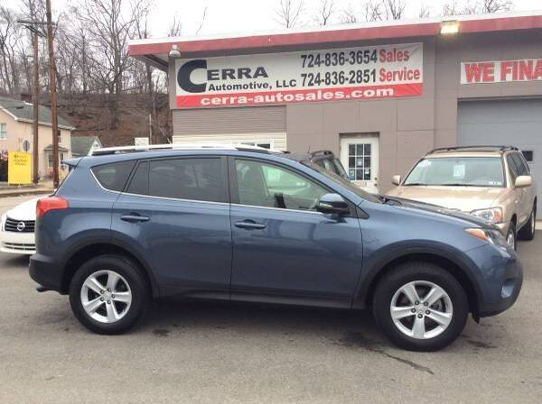 2014 Toyota RAV4 for sale at Cerra Automotive LLC in Greensburg PA