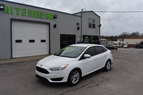 2018 Ford Focus for sale at Rite Ride Inc in Murfreesboro TN