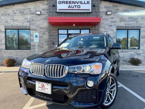 2016 BMW X3 for sale at GREENVILLE AUTO in Greenville WI