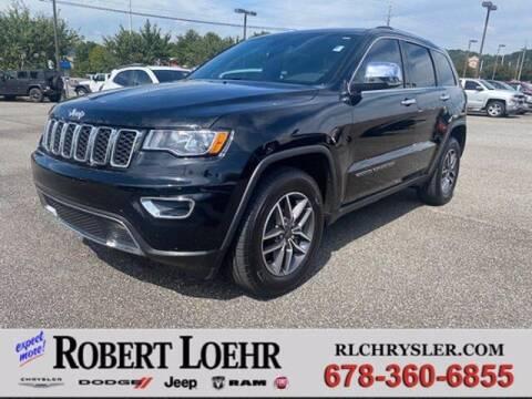 2021 Jeep Grand Cherokee for sale at Robert Loehr Chrysler Dodge Jeep Ram in Cartersville GA