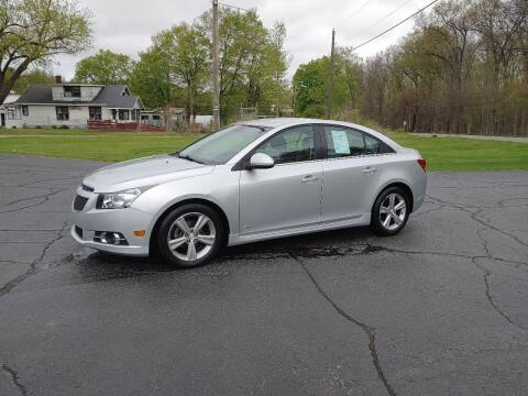 2012 Chevrolet Cruze for sale at Depue Auto Sales Inc in Paw Paw MI