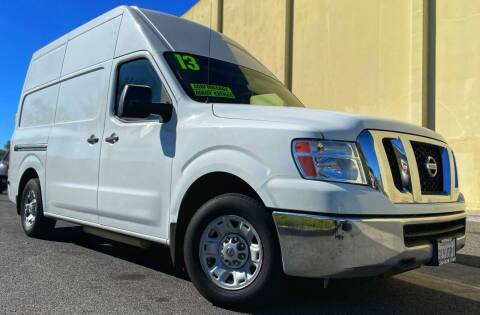 2013 Nissan NV Cargo for sale at Affordable Auto Solutions in Wilmington CA