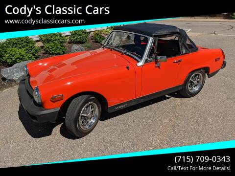 1979 MG Midget for sale at Cody's Classic Cars in Stanley WI