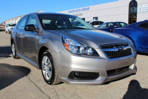 2014 Subaru Legacy for sale at SHAFER AUTO GROUP in Columbus OH