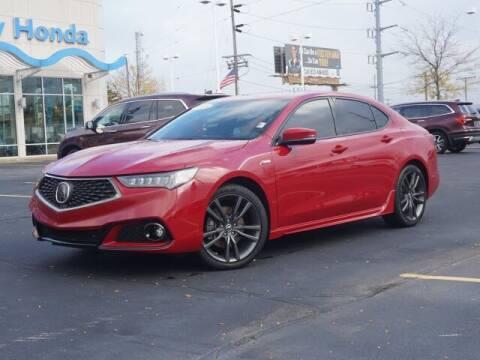 2019 Acura TLX for sale at BASNEY HONDA in Mishawaka IN