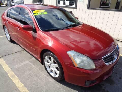 2007 Nissan Maxima for sale at BBL Auto Sales in Yakima WA