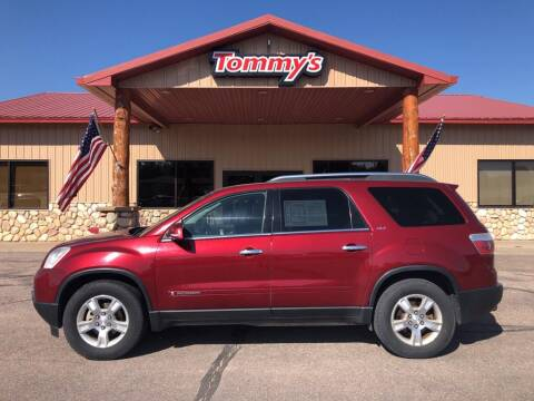 2008 GMC Acadia for sale at Tommy's Car Lot in Chadron NE