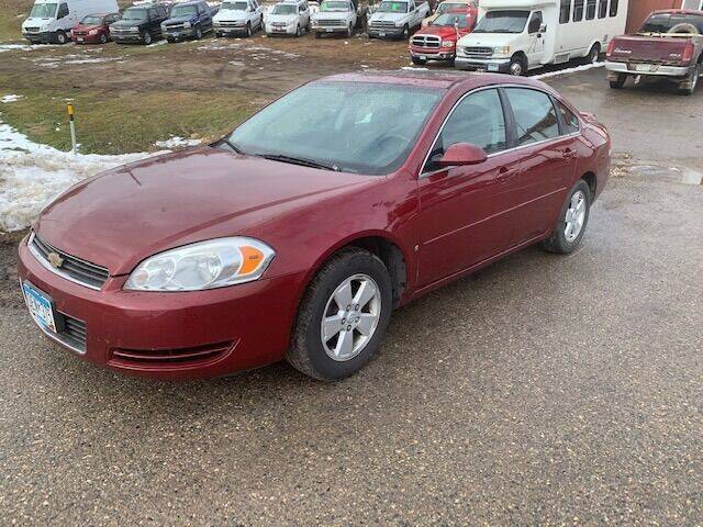 2008 Chevrolet Impala for sale at Four Boys Motorsports in Wadena MN