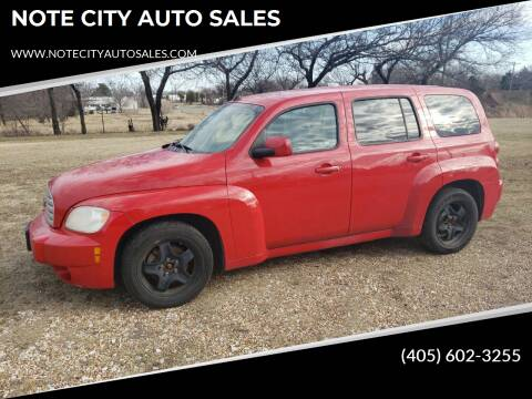 2011 Chevrolet HHR for sale at NOTE CITY AUTO SALES in Oklahoma City OK