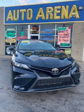 2021 Toyota Camry for sale at Auto Arena in Fairfield OH