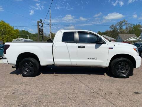 2010 Toyota Tundra for sale at RIVERSIDE AUTO SALES in Sioux City IA