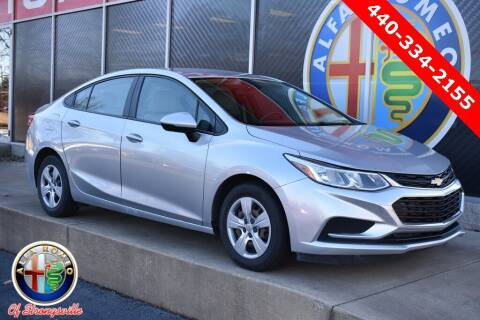 2017 Chevrolet Cruze for sale at Alfa Romeo & Fiat of Strongsville in Strongsville OH