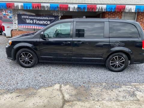 2016 Dodge Grand Caravan for sale at American Auto in Rayville LA