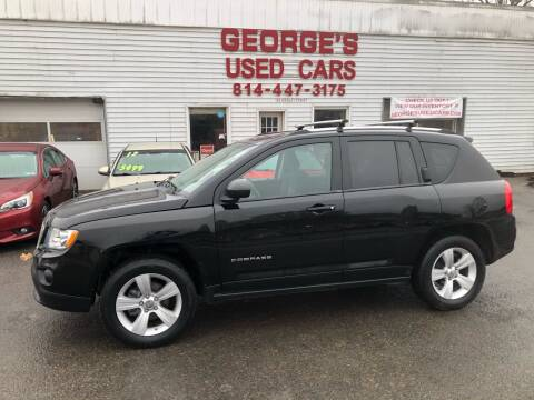 2012 Jeep Compass for sale at George's Used Cars Inc in Orbisonia PA