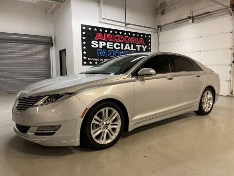 2014 Lincoln MKZ for sale at Arizona Specialty Motors in Tempe AZ